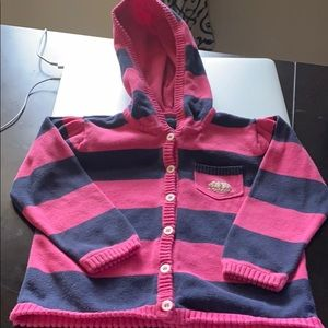 Beautiful Toddler girl's Nautica sweater